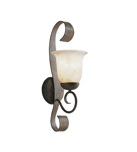 Kichler Lighting High Country 1 Light Outdoor Wall Lantern in Old Iron 9274OI