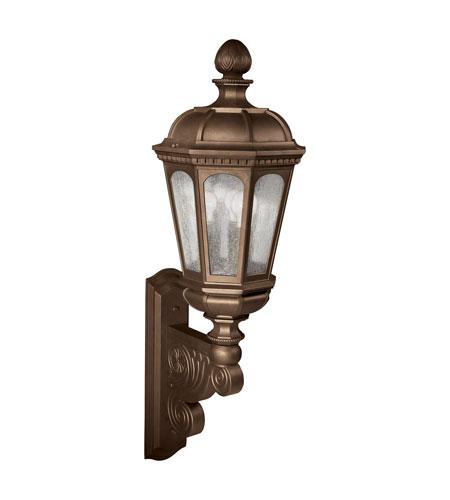 kichler lighting beacon hill 3 light outdoor wall lantern in legacy
