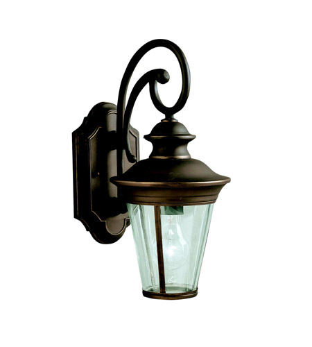 Kichler Lighting Eau Claire 1 Light Outdoor Wall Lantern in Olde Bronze 9346OZ photo