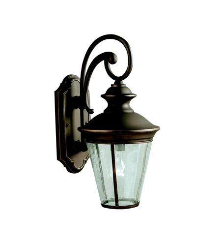 Kichler 9347OZ Eau Claire 1 Light 18 inch Olde Bronze Outdoor Wall Lantern photo