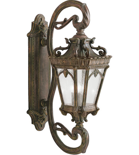 Kichler 9359LD Tournai 4 Light 38 inch Londonderry Outdoor Wall Lantern photo