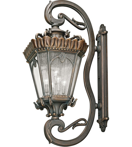 Kichler 9362LD Tournai 5 Light 70 inch Londonderry Outdoor Wall Lantern photo