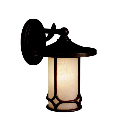 Kichler Lighting Chicago 1 Light Outdoor Wall Lantern in Aged Bronze 9365AGZ photo