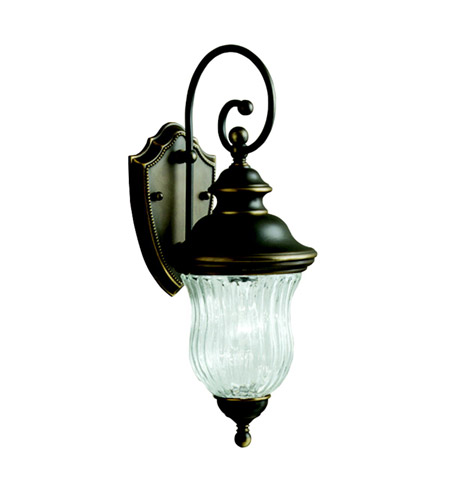 Kichler 9412OZ Sausalito 1 Light 20 inch Olde Bronze Outdoor Wall Lantern photo