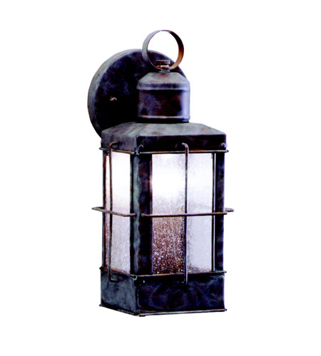 Kichler Lighting Concord 1 Light Outdoor Wall Lantern in Olde Brick 9477OB photo