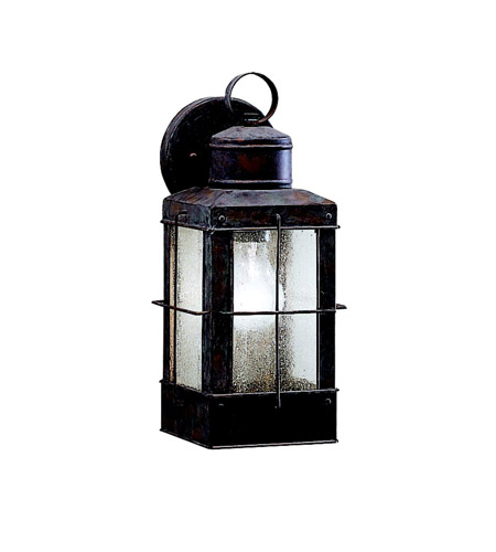Kichler Lighting Concord 1 Light Outdoor Wall Lantern in Olde Brick 9478OB photo