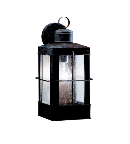 Kichler Lighting Concord 1 Light Outdoor Wall Lantern in Olde Brick 9479OB photo
