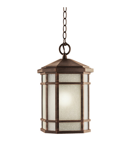 Kichler 9511PR Cameron 1 Light 10 inch Prairie Rock Outdoor Pendant  photo