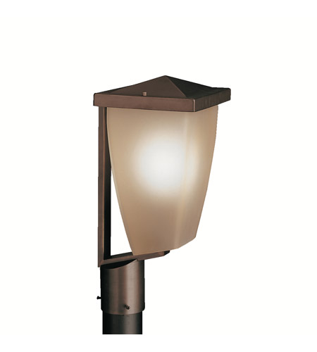 Kichler Lighting Benton 1 Light Outdoor Post Lantern in Olde Bronze 9528OZ photo