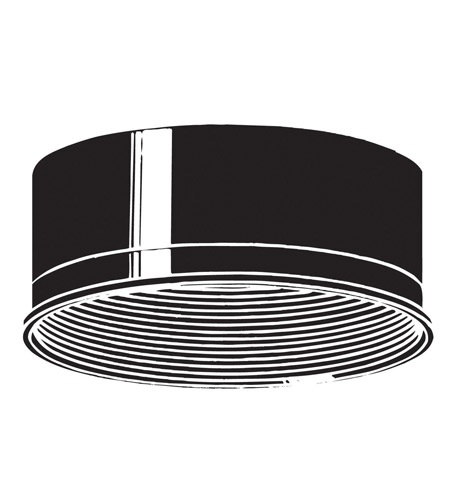 Kichler Lighting Baffle Outdoor Accessory in Black Material 9546BK