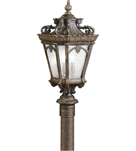 Kichler 9559LD Tournai 4 Light 30 inch Londonderry Outdoor Post Lantern photo