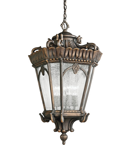 Kichler Lighting Tournai 4 Light Outdoor Pendant in Londonderry 9564LD