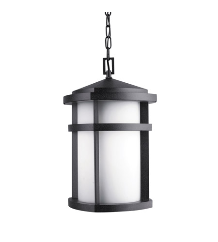 Kichler Lighting Lantana 1 Light Outdoor Pendant in Textured Granite 9567GNT photo