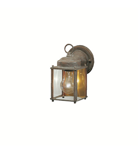 Kichler Lighting Signature 1 Light Outdoor Wall Lantern in Olde Brick 9611OB