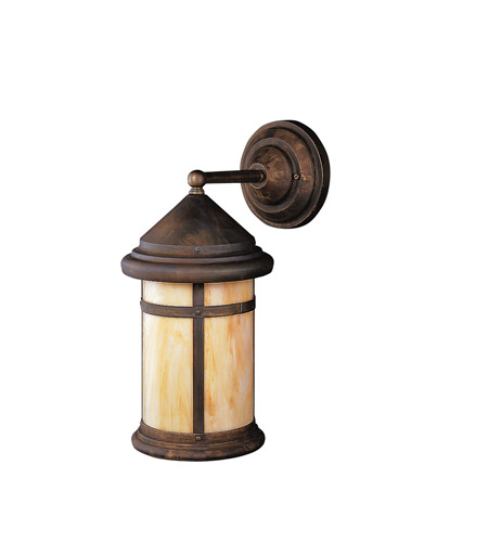 Kichler Lighting Tularosa 1 Light Outdoor Wall Lantern in Canyon View 9645CV