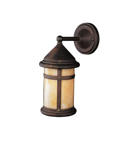 Kichler Lighting Tularosa 1 Light Outdoor Wall Lantern in Canyon View 9646CV photo