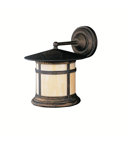 Kichler Lighting Tularosa 1 Light Outdoor Wall Lantern in Canyon View 9647CV