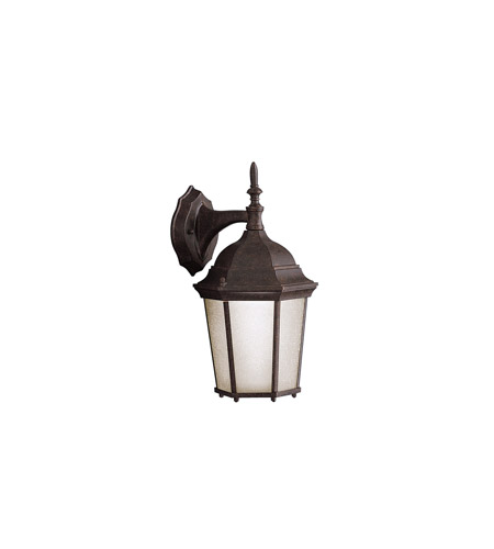 Kichler Lighting Madison 1 Light Outdoor Wall Lantern in Tannery Bronze 9650TZ