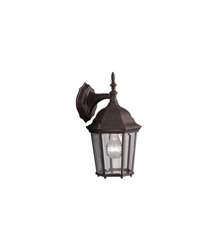 Kichler Lighting Madison 1 Light Outdoor Wall Lantern in Tannery Bronze 9650TZ photo