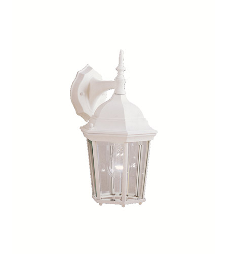 Kichler Lighting Madison 1 Light Outdoor Wall Lantern in White 9650WH