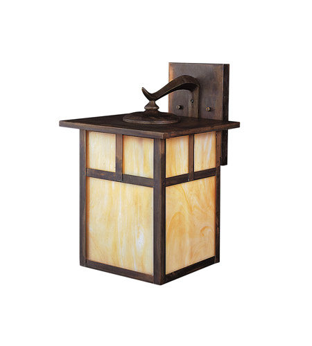 Kichler 9652CV Alameda 1 Light 14 inch Canyon View Outdoor Wall Lantern photo