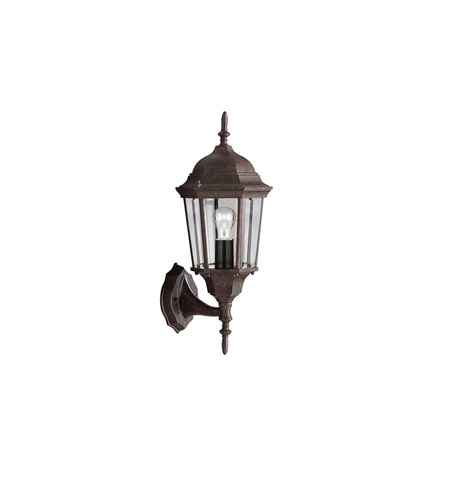 Kichler Lighting Madison 1 Light Outdoor Wall Lantern in Tannery Bronze 9653TZ