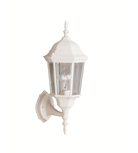 Kichler Lighting Madison 1 Light Outdoor Wall Lantern in White 9653WH