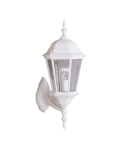 Kichler Lighting Madison 1 Light Outdoor Wall Lantern in White 9654WH