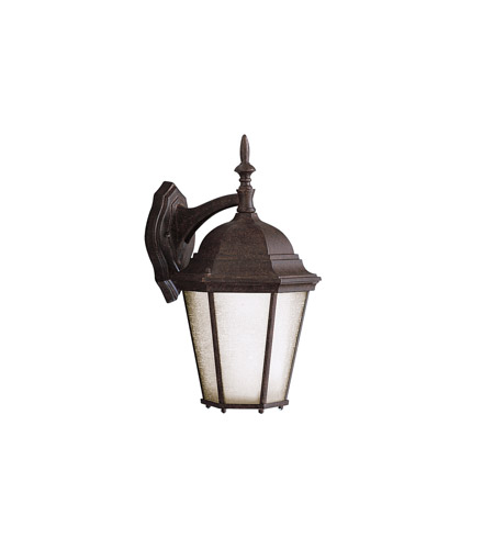 Kichler Lighting Madison 1 Light Outdoor Wall Lantern in Tannery Bronze 9655TZ