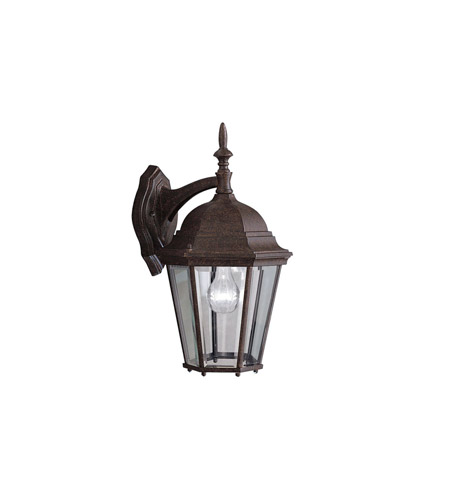 Kichler Lighting Madison 1 Light Outdoor Wall Lantern in Tannery Bronze 9655TZ photo