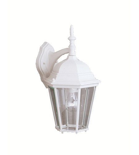Kichler Lighting Madison 1 Light Outdoor Wall Lantern in White 9655WH