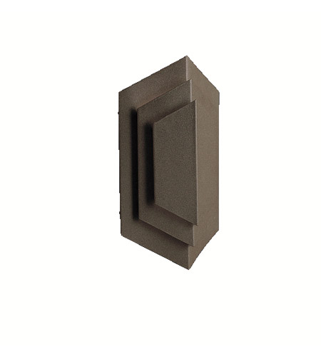 Kichler Lighting Signature 1 Light Outdoor Wall Lantern in Architectural Bronze 9670AZ photo
