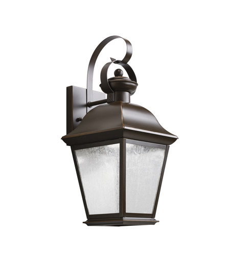 Kichler Mount Vernon LED Outdoor Wall - Small in Olde Bronze 9708OZLED photo