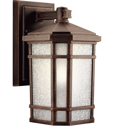 Kichler 9718PR Cameron 1 Light 11 inch Prairie Rock Outdoor Wall Lantern photo