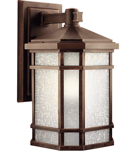 Kichler 9720PR Cameron 1 Light 18 inch Prairie Rock Outdoor Wall Lantern photo