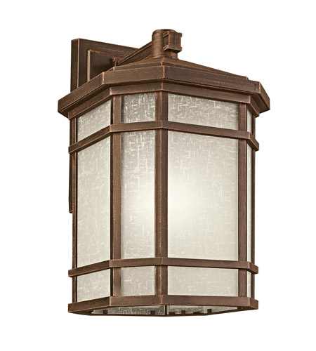 Kichler Lighting Cameron 1 Light Outdoor Wall Lantern in Prairie Rock 9721PR photo