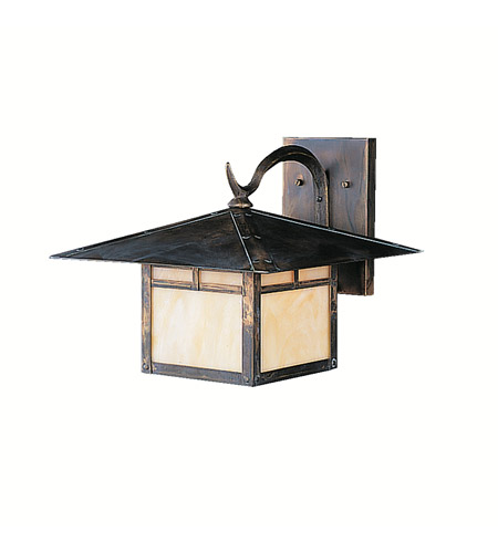 Kichler Lighting La Mesa 1 Light Outdoor Wall Lantern in Canyon View 9725CV