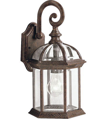 Kichler 9735TZ Barrie 1 Light 16 inch Tannery Bronze Outdoor Wall Lantern photo