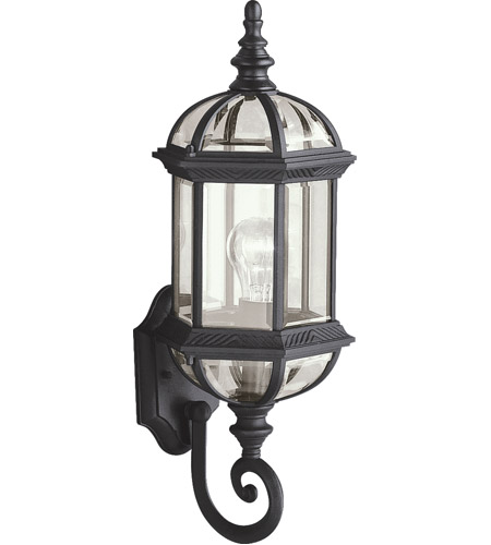 Kichler 9736BK Barrie 1 Light 22 inch Black Outdoor Wall Lantern photo