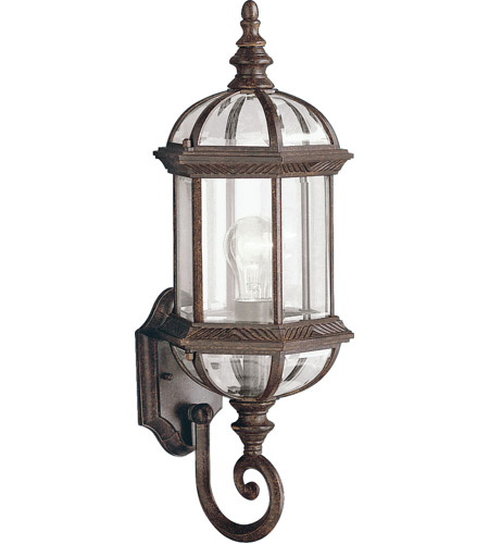 Kichler 9736TZ Barrie 1 Light 22 inch Tannery Bronze Outdoor Wall Lantern photo