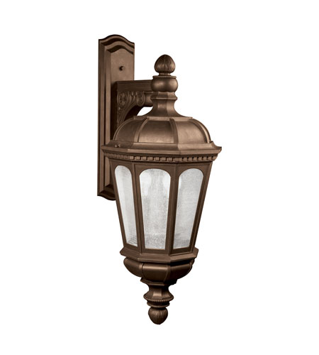 Kichler Lighting Beacon Hill Outdoor Wall 3lt In Legacy Bronze 9757lz