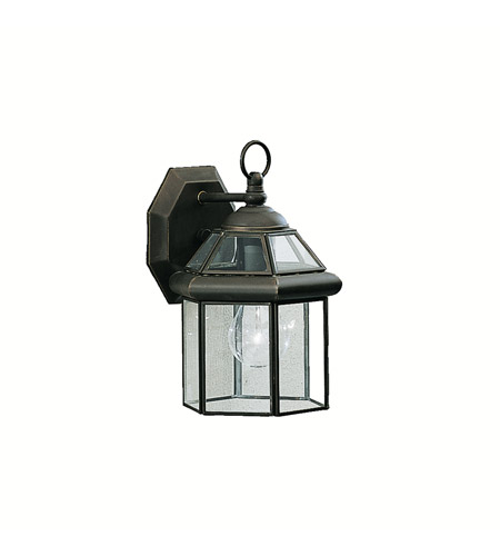 Kichler Lighting Embassy Row 1 Light Outdoor Wall Lantern in Olde Bronze 9783OZ
