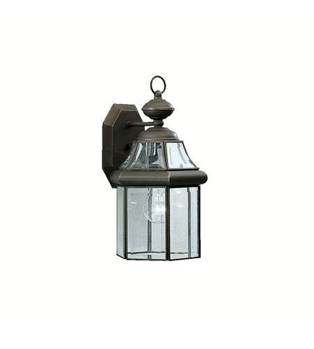 Kichler 9784OZ Embassy Row 1 Light 15 inch Olde Bronze Outdoor Wall Lantern photo