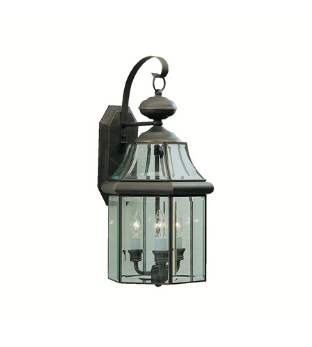 Kichler Lighting Embassy Row 3 Light Outdoor Wall Lantern in Olde Bronze 9785OZ photo