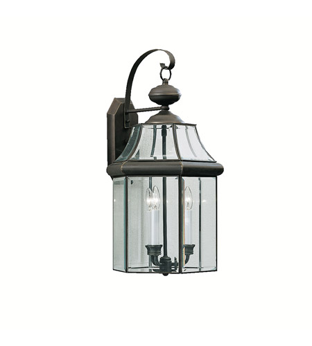 Kichler Lighting Embassy Row 3 Light Outdoor Wall Lantern in Olde Bronze 9786OZ photo