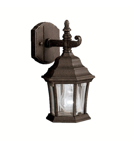 Kichler Lighting Townhouse 1 Light Outdoor Wall Lantern in Tannery Bronze 9788TZ photo