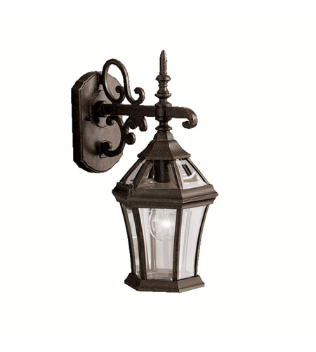 Kichler Lighting Townhouse 1 Light Outdoor Wall Lantern in Tannery Bronze 9789TZ