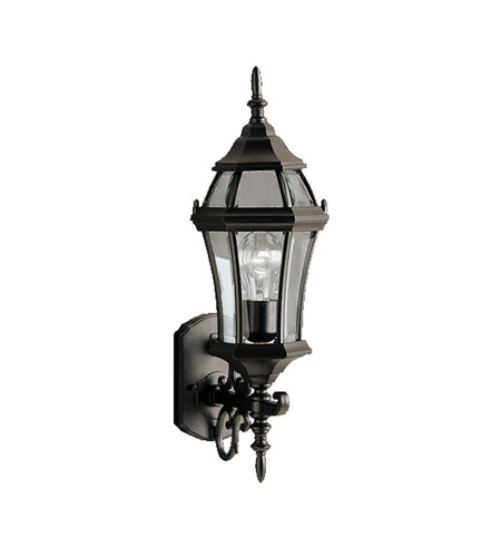 Kichler 9790BK Townhouse 1 Light 22 inch Black Outdoor Wall Lantern photo