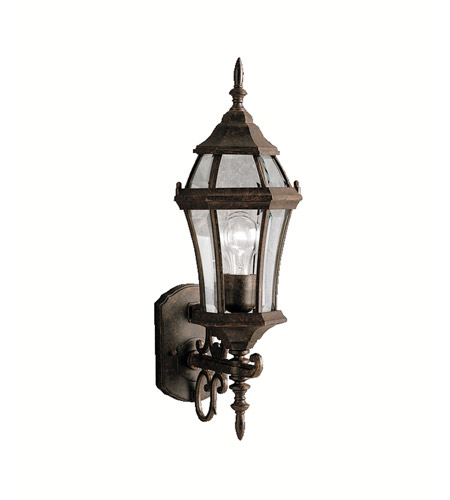 Kichler 9790TZ Townhouse 1 Light 22 inch Tannery Bronze Outdoor Wall Lantern photo