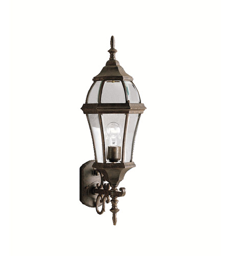 Kichler 9791TZ Townhouse 1 Light 27 inch Tannery Bronze Outdoor Wall Lantern photo